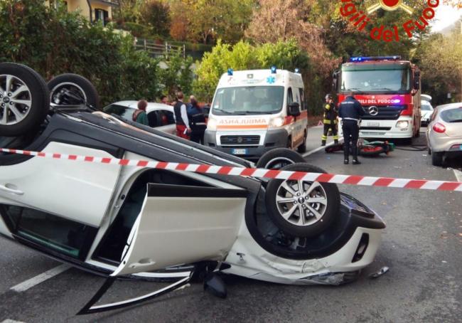 Incidente a Como, tre feriti