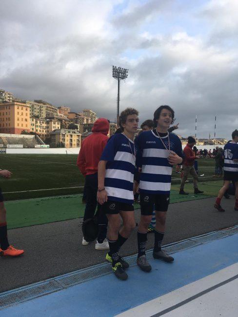 Rugby Como Mattei e Tironi con la LOmbardia U14