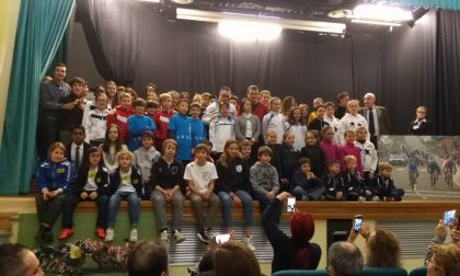 Giovani atleti premiati alla festa dello sport di Como