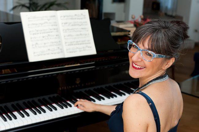 Concerto Albiolo Fiammetta Corvi al pianoforte
