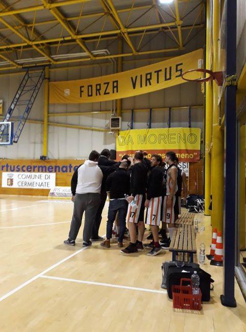 Basket promozione Senna perde a Cermenate