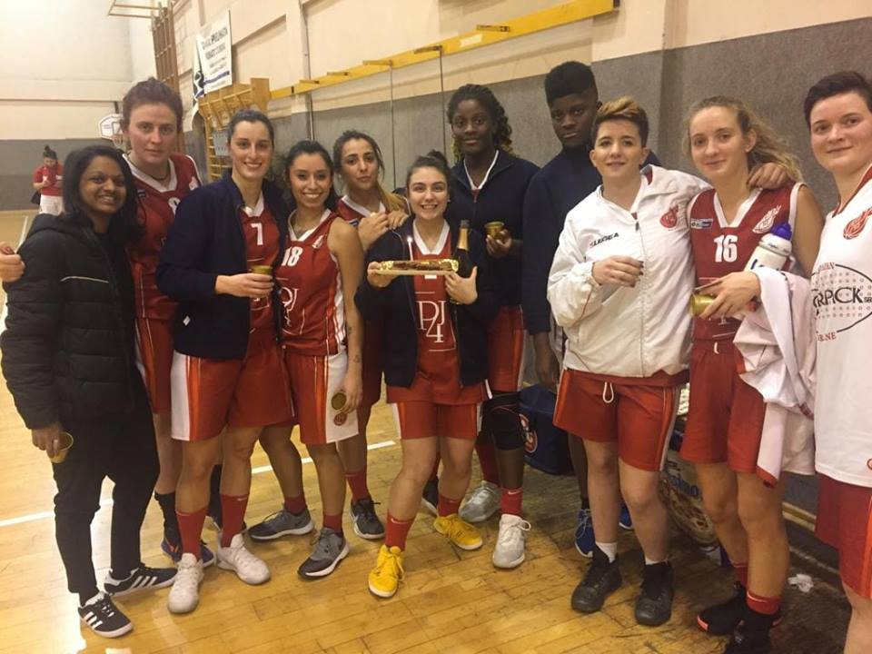 Basket femminile, Btf cantù a segno