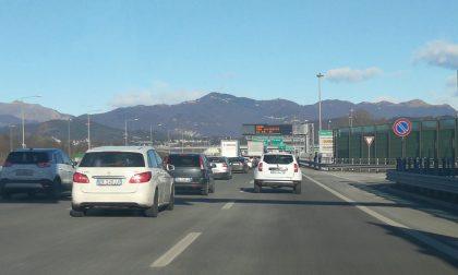 Chiusure notturne sull'autostrada A9 per lavori alle gallerie San Fermo e Monte Olimpino