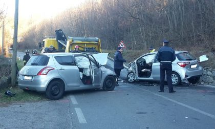Incidente a Lipomo, tre feriti FOTO