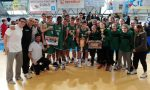 Basket giovanile tre canturini sul trono con la Lombardia