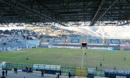 Como calcio, da oggi in vendita i biglietti per la prossima sfida casalinga contro l'Alessandria