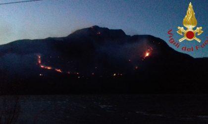 Rischio incendi boschivi: Como attiva la Protezione civile anche per la notte