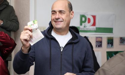 Nicola Zingaretti arriva a Como per dare il via alla campagna delle Primarie aperte