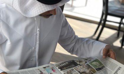 Il Giornale di Cantù arriva fino ad Abu Dhabi FOTO