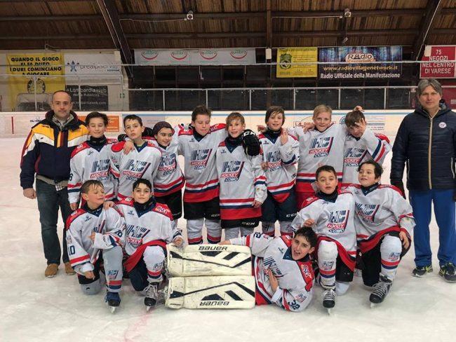Hockey Como Under11 a Varese