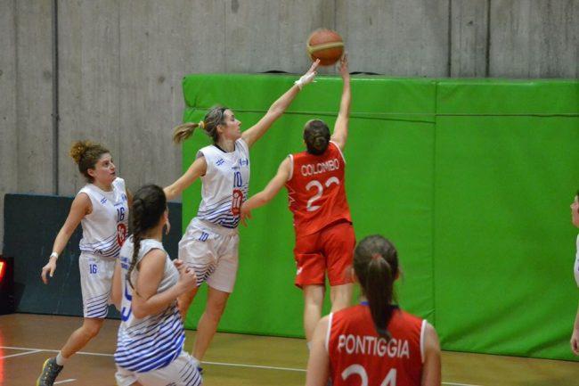 Basket femminile derby vertemate-mariano
