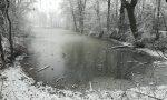 Neve, il laghetto della Mordina è magico VIDEO e FOTO