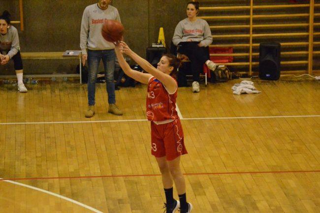Basket femminile mariano corsara a Como