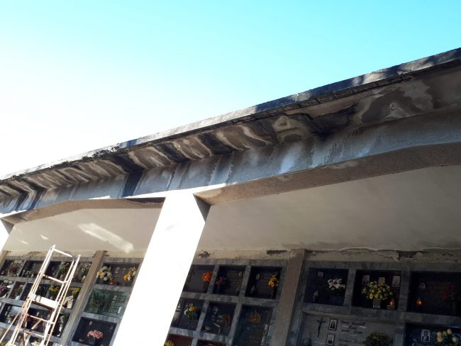 Guarisco e Greco: &#8220&#x3B;Camposanto ancora nel degrado&#8221&#x3B;. GALLERY