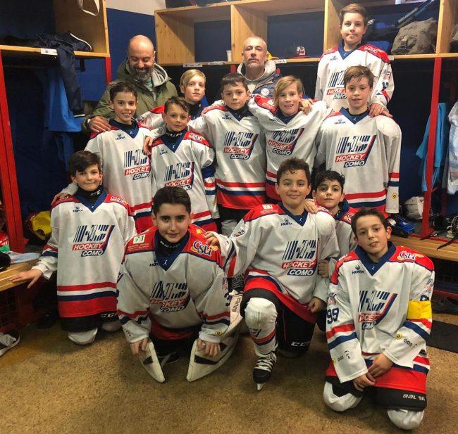 Hockey Como under11 protaginisti al Torno San Gottardo
