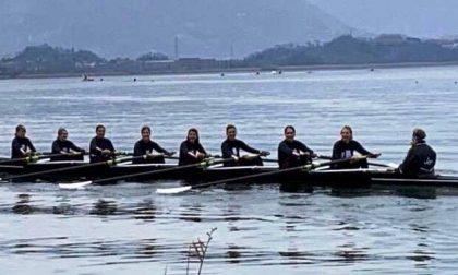 Canottieri Lario quanti allori dal Tamigi a Pusiano
