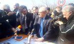 Il Ministro Toninelli in visita al ponte di Annone. Ecco quando finiranno i lavori FOTO e VIDEO