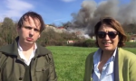 """Incendio discarica Mariano. Il Movimento 5 Stelle: """"Si chiuda, basta rifiuti"""" VIDEO"""