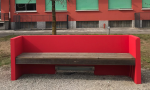 A Cabiate una panchina rossa in onore delle donne