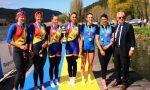 Canottieri Lario atleti bianconeri protagonisti a Piediluco