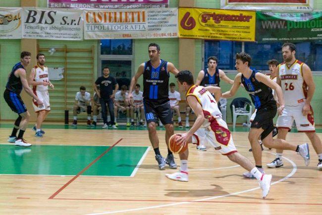 Basket C Gold le Bocec Erba in campo