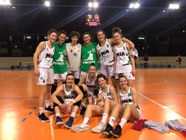 Basket femminile mariano batte bresso