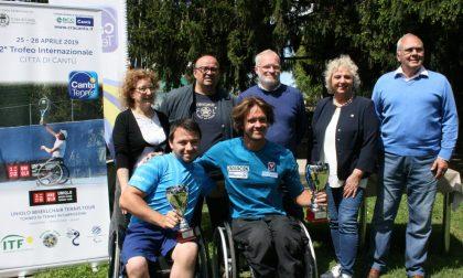 Tennis Cantù Itf di Wheelchair Città di Cantù un trionfo