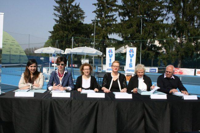 Tennis Cantù presentazione 2° Città di cantù