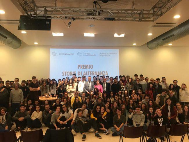 Storie di alternanza: premiati gli studenti per i loro progetti di scuola-lavoro FOTO