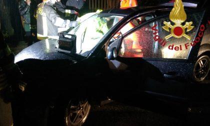 Incidente a Guanzate ferito un 17enne SIRENE DI NOTTE