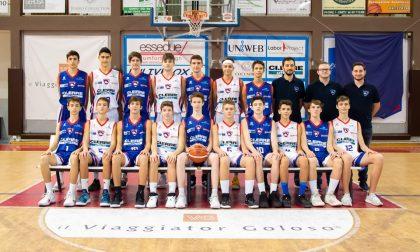 Progetto Giovani Cantù la squadra Under15 vola alle finali tricolori
