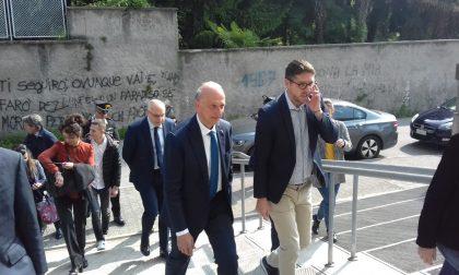 Il ministro Bussetti in visita alle scuole di Cantù e Mariano FOTO e VIDEO