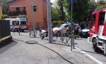 Scontro auto moto a Casnate: ferito un giovane