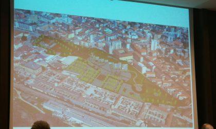 Il futuro dell'area Ticosa: parcheggi, sede del Comune e Santarella centro culturale FOTO