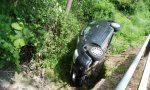 Incidente a Cadorago giovane si ribalta con l'auto