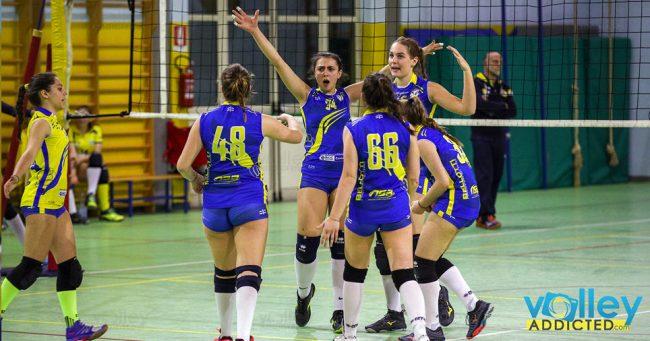 Ardor Mariano vincente in Seconda divisione femminile
