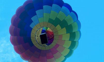 Domani mongolfiera in volo a Mariano Comense