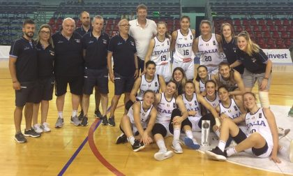 Basket femminile ufficiale la marianese Meriem Nasraoui va agli Europei