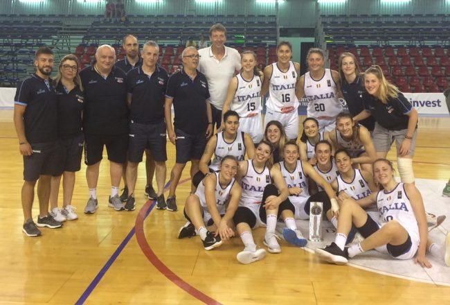 Basket femminile ufficiale la marianese Meriem Nasraoui va