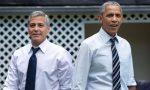 Obama day a Laglio: attesa finita, l'ex presidente è arrivato