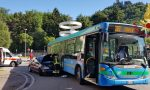 Incidente a Camerlata: scontro tra bus e auto FOTO