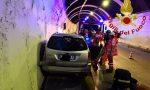 Incidente in autostrada A9 in galleria Quarcino SIRENE DI NOTTE
