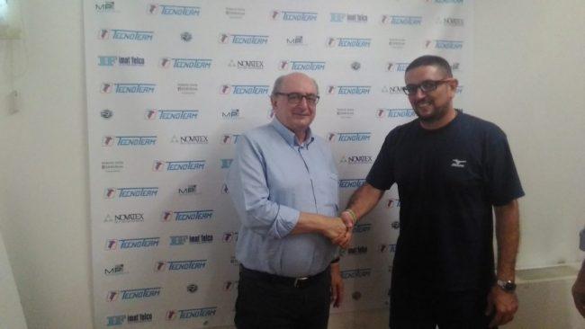 Albese Volley presidente Crimella e coach Mucciolo
