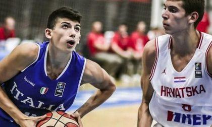 Pallacanestro Cantù Gabriele Procida convocato con l'Italia Under20