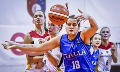 Basket femminile Meriem Nasraoui e Martina Spinelli al primo raduno con la nazionale maggiore Italiana