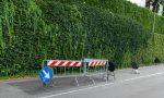 Cedimento stradale a Figino: via Trento a senso alternato