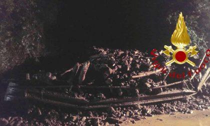 Emergenza maltempo: frana a Osteno, chiusa la Provinciale