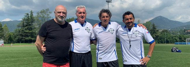 Como Calcio ieri raduni per le squadre azzurre Berretti, Under17 e Under15