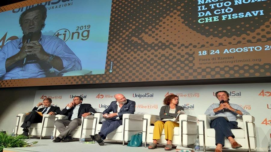 """Autonomia Lombardia, governatore Fontana al Meeting di Cl: """"Non penalizza il Sud"""""""
