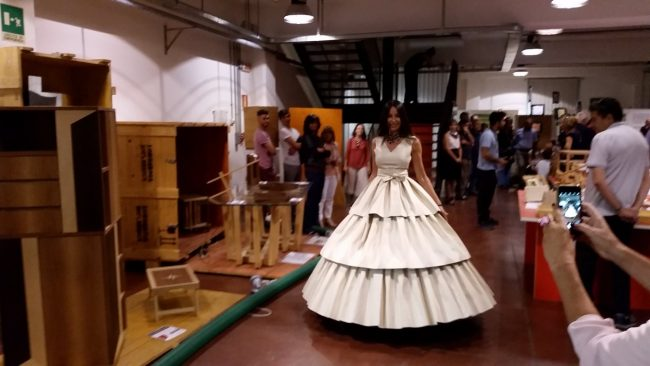 Festival del legno: grande attesa per l'installazione di Gaetano Pesce